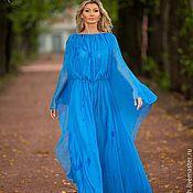 Одежда handmade. Livemaster - original item Chiffon dress long