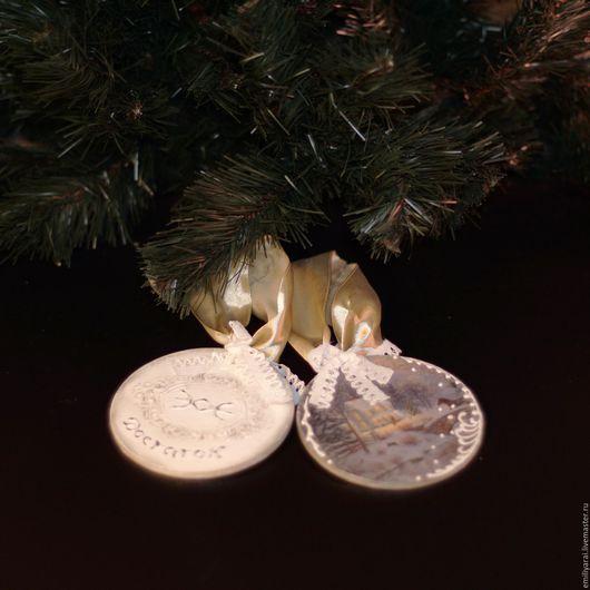 """Новый год 2017 ручной работы. Ярмарка Мастеров - ручная работа. Купить Новогодние игрушки - Талисман """"Магические руны"""". Handmade. Розовый"""