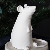 "Год Крысы 2020 ручной работы. Ярмарка Мастеров - ручная работа Год Крысы 2020: Статуэтка символ года ""Мышь"". Handmade."