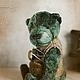 Мишки Тедди ручной работы. Ярмарка Мастеров - ручная работа. Купить Павэл Мацкевич. Мишка-тедди. Handmade. Зеленый