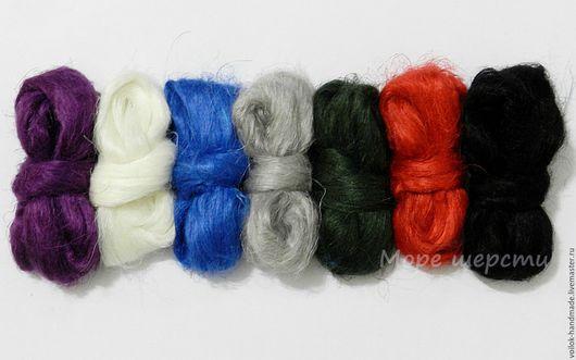 Набор  №11 - `Лён` Можно отдельно каждый цвет - 40 руб. за 10 гр