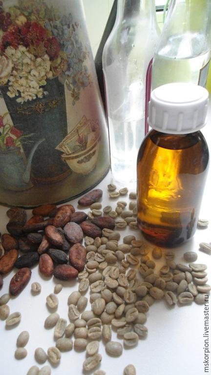 Гидролат зеленых кофе и какао-бобов