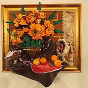 Картины и панно ручной работы. Ярмарка Мастеров - ручная работа Каприз. Handmade.