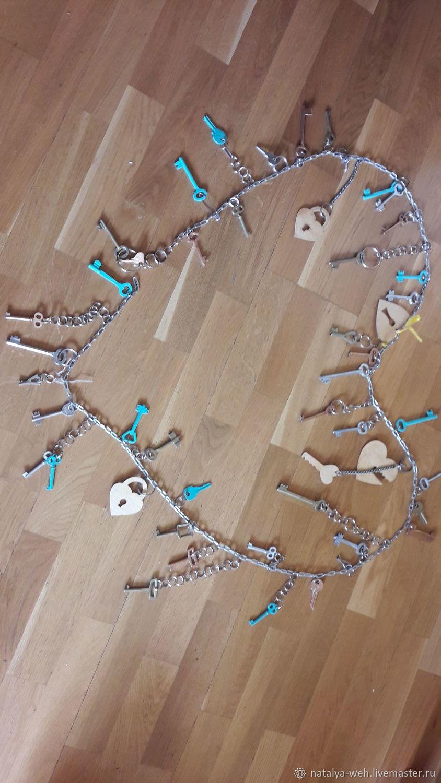 """Гирлянда """"Ключики-замочки"""", Оформление зала, Москва,  Фото №1"""