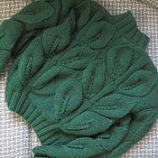 """Одежда ручной работы. Ярмарка Мастеров - ручная работа Пуловер """"Листья"""". Handmade."""