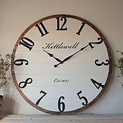 Для дома и интерьера handmade. Livemaster - original item Copy of Copy of Copy of Copy of Wall clock 100 cm. Handmade.