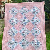 Одеяла ручной работы. Ярмарка Мастеров - ручная работа Лоскутное одеяло «Лето Кролика Питера». Handmade.