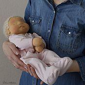 Куклы и игрушки handmade. Livemaster - original item Doll Newborn with amniotic sac, placenta and umbilical cord. Handmade.