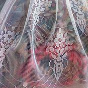 Материалы для творчества ручной работы. Ярмарка Мастеров - ручная работа Тюлевые, винтажные отрезы ткани для творчества. Handmade.