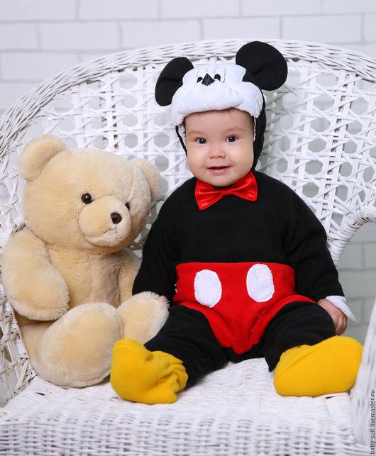 Карнавальный новогодний костюм Мышонка для малышей и детей