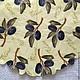 Молодые оливки на ветках-213(салфетка для декупажа).Декупажная радость