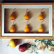 Винтаж handmade. Livemaster - original item Original panels of Pear. Handmade.