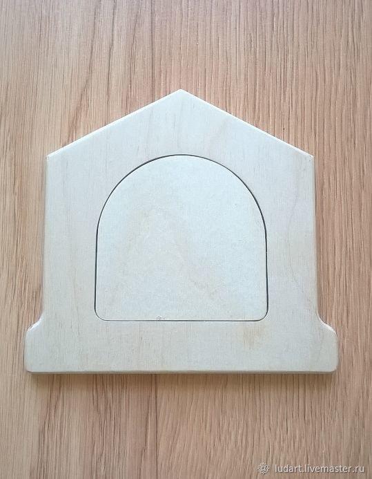 Дверка-домик для бизиборда №2 (малая), Заготовки для декупажа и росписи, Санкт-Петербург,  Фото №1