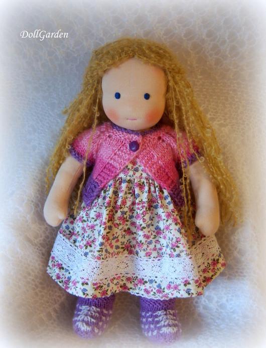 Вальдорфская игрушка ручной работы. Ярмарка Мастеров - ручная работа. Купить Вальдорфская кукла. Неженка. Handmade. Розовый, подарок для девочки
