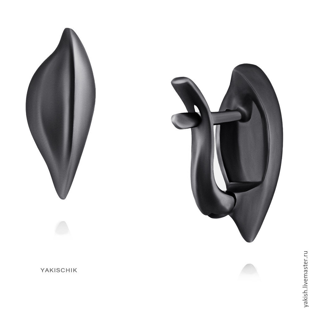 "Серьги из серебра 925 ""Essentia.Скорость"", Earrings, Moscow,  Фото №1"
