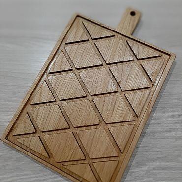Для дома и интерьера ручной работы. Ярмарка Мастеров - ручная работа Разделочная доска для хлеба. Handmade.