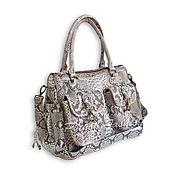 Сумки и аксессуары handmade. Livemaster - original item Bag made of Python CAMILA. Handmade.