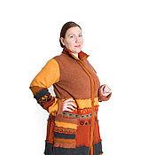 Одежда ручной работы. Ярмарка Мастеров - ручная работа Свитер пальто. Handmade.