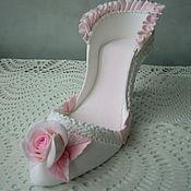 Свадебный салон ручной работы. Ярмарка Мастеров - ручная работа Туфелька свадебная. Handmade.