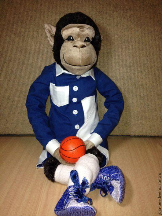 Одежда для кукол ручной работы. Ярмарка Мастеров - ручная работа. Купить Спортивный костюм на куклу (мягкую игрушку). Handmade.