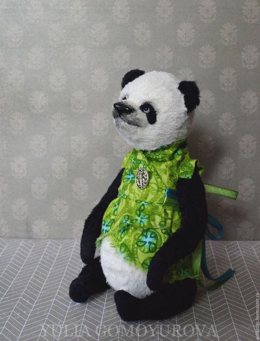 Мишки Тедди ручной работы. Ярмарка Мастеров - ручная работа. Купить Унаби. Панда.. Handmade. Мишка ручной работы, панда