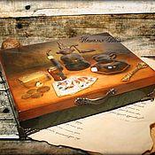 """Для дома и интерьера ручной работы. Ярмарка Мастеров - ручная работа Шкатулка """"Игрок"""" 3Д. Handmade."""