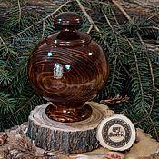 Посуда handmade. Livemaster - original item The candy bowl Sugar bowl wooden natural wood Pine #V8. Handmade.