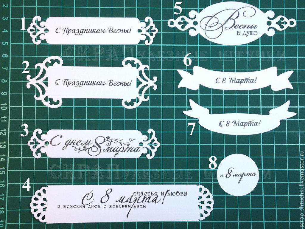 Как сделать надпись на открытке онлайн