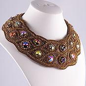 Украшения handmade. Livemaster - original item Set necklace and earrings the pave. Handmade.
