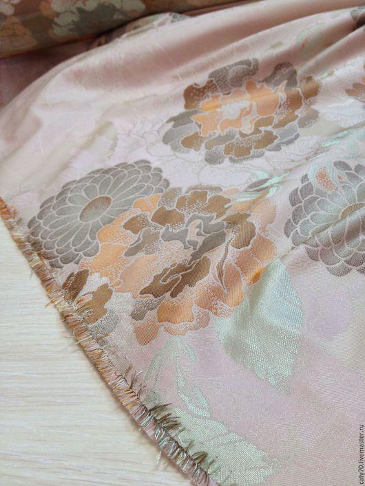 Шитье ручной работы. Ярмарка Мастеров - ручная работа. Купить Жаккардовая ткань, арт. ЖК012. Handmade. Ткани для шитья, розовый