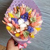 Цветы ручной работы. Ярмарка Мастеров - ручная работа Букет из сухоцветов.. Handmade.