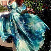 Платья ручной работы. Ярмарка Мастеров - ручная работа Loreen платье из шифона. Handmade.
