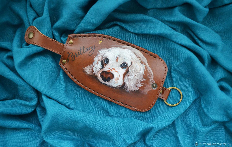 "Leather key case ""BRITTANI"", Housekeeper, Krivoy Rog,  Фото №1"