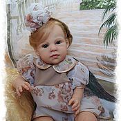 Куклы и игрушки ручной работы. Ярмарка Мастеров - ручная работа Кукла реборн Louisa (луиза) от Jannie de Lange. Handmade.