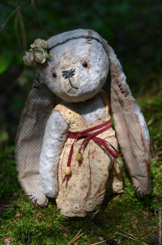 Мишки Тедди ручной работы. Ярмарка Мастеров - ручная работа. Купить Маруся. Handmade. Тедди зайка, игрушка в подарок