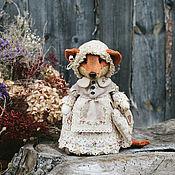 Куклы и игрушки ручной работы. Ярмарка Мастеров - ручная работа Лисичка.. Handmade.