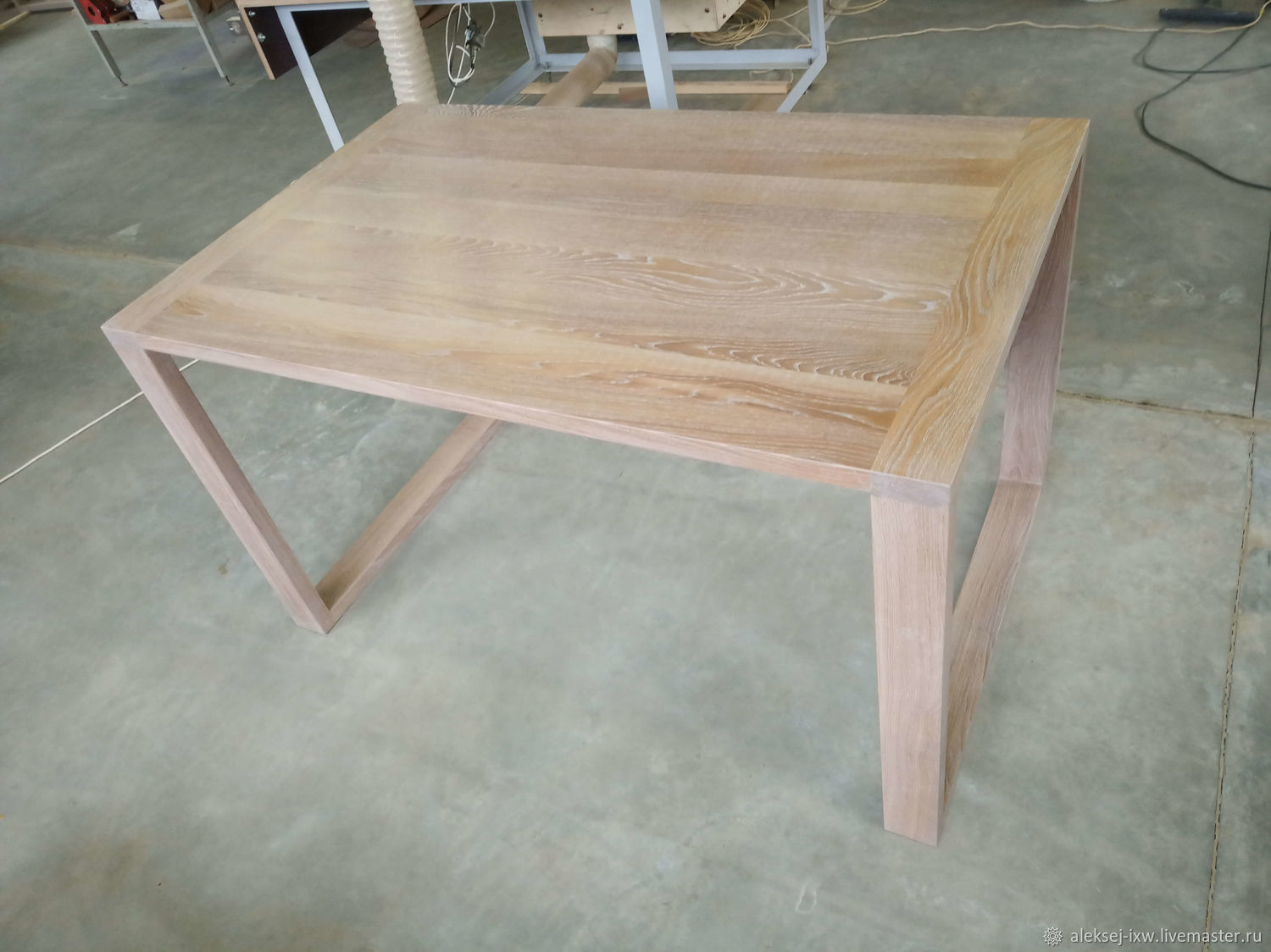 Table made of oak 800 h1300 mm, Tables, Moscow,  Фото №1