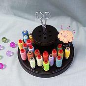 Материалы для творчества handmade. Livemaster - original item Organizer for needlework round.. Handmade.