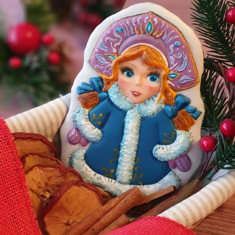 Открытка Снегурчка, Пряники, Санкт-Петербург, Фото №1