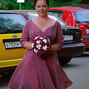 Одежда handmade. Livemaster - original item Wedding dress with sweetheart neckline