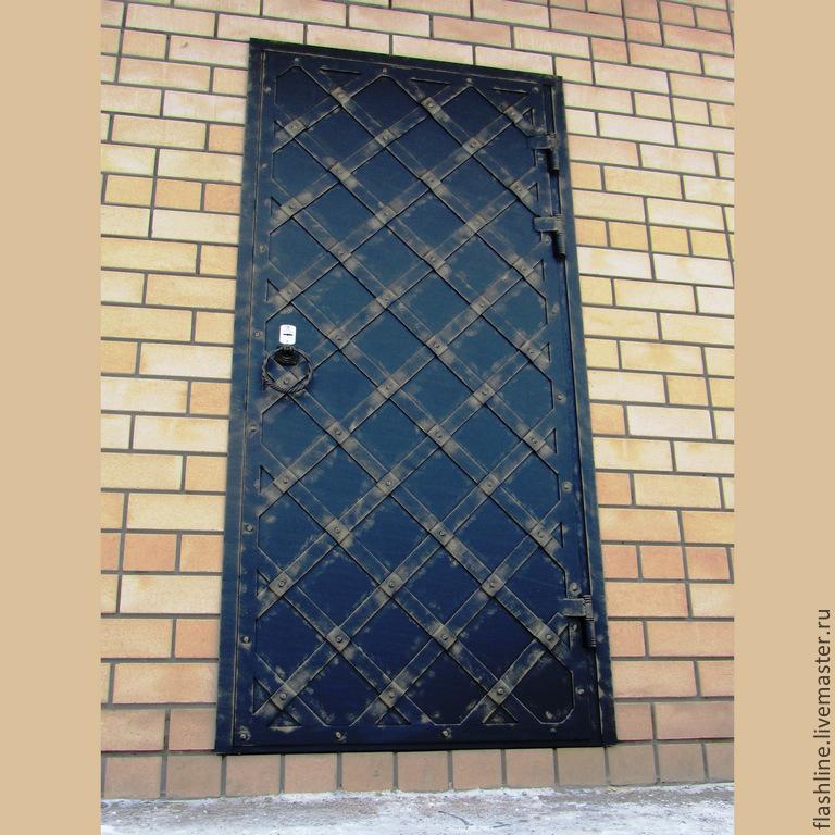 Дверь кованая одностворчатая, Двери, Тверь, Фото №1