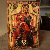 """Картины и панно handmade. Livemaster - original item Икона деревянная Богоматерь """"Толгская"""". Handmade."""