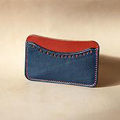 Сумки и аксессуары handmade. Livemaster - original item business card holder brogue Avancorpo. Handmade.