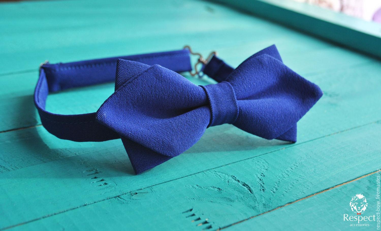 Blue tie Mod / bow tie bright blue original, Ties, Moscow,  Фото №1