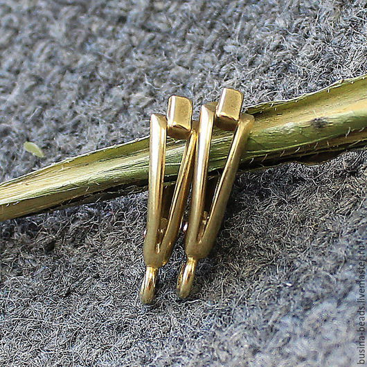 Швензы Мельхиор Бронза, швензы английский замок Качественные, российского производства швензы из мельхиора, с покрытием цвета бронза