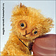 Мишки Тедди ручной работы. Ярмарка Мастеров - ручная работа. Купить Липовый Чай. Handmade. Желтый, мини мишки, мохер
