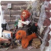 Куклы и игрушки ручной работы. Ярмарка Мастеров - ручная работа Жильцы старого дома. Handmade.