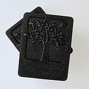 """Мыло ручной работы. Ярмарка Мастеров - ручная работа """"Black Soap""""- глубокое очищение. Handmade."""