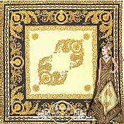 """Ткани ручной работы. Ярмарка Мастеров - ручная работа Батист D&G """"Персия"""" итальянские ткани. Handmade."""