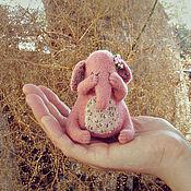 Куклы и игрушки ручной работы. Ярмарка Мастеров - ручная работа Слоник и прятки. Handmade.